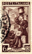 Abruzzo stamp