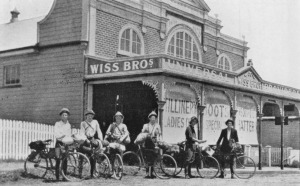 Wiss Brothers General Store, Kalbar, Queensland, 1921