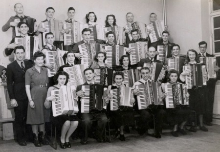 Piano accordion orchestra