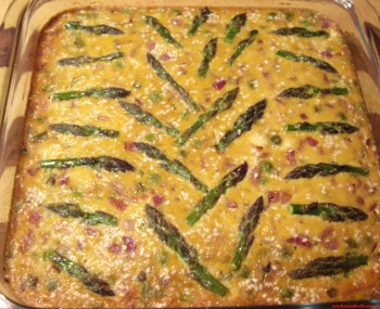 Zoe's version of Bisnonna's frittata