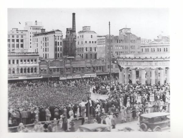 Anzac Square 1930