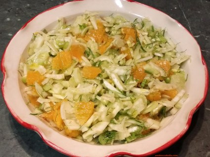 Sicilian orange and fennel salad