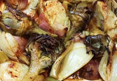 roasted artichoke, red onion and fennel